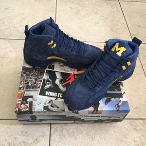 Jordan 12 Retro Michigan NRG AUTHENTIC FINAL PRICE